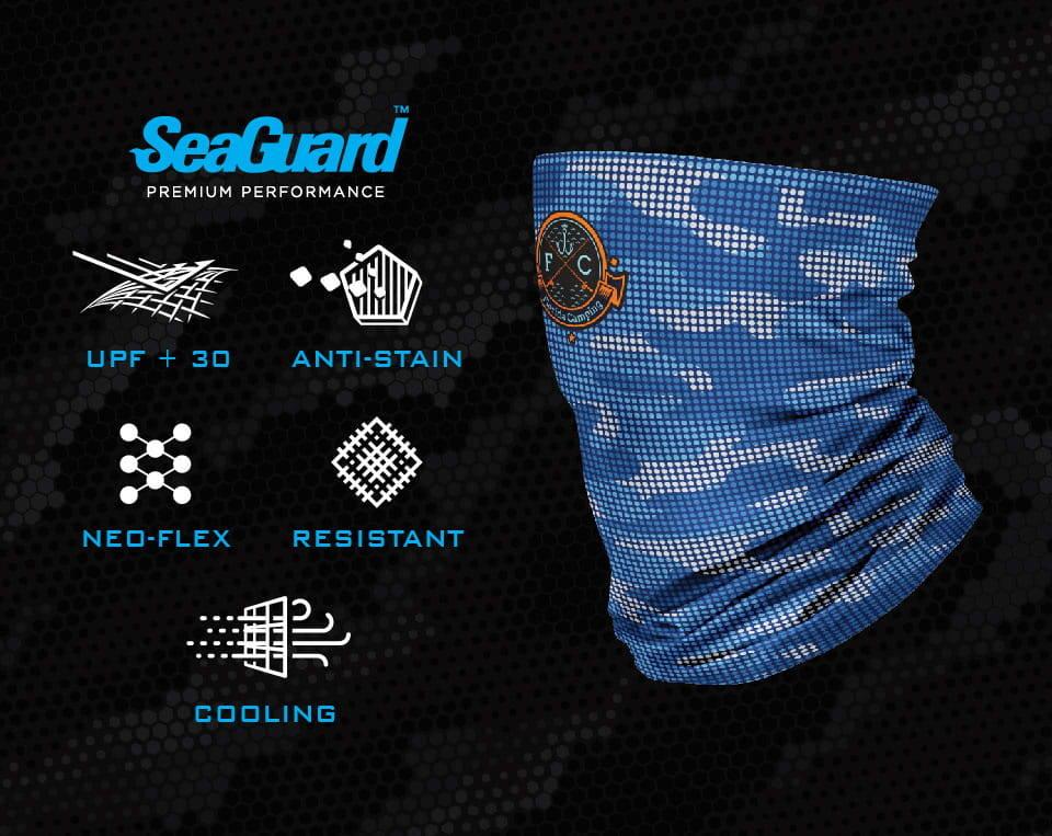 BRINY Seaguard custom neck gaiter with premium features