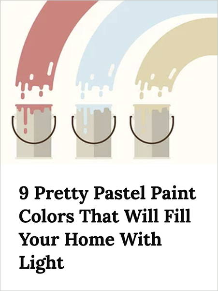 Real Simple 9 Pretty Pastel Paint Colors Fill your home with Light Jolie Paint Rose Quartz