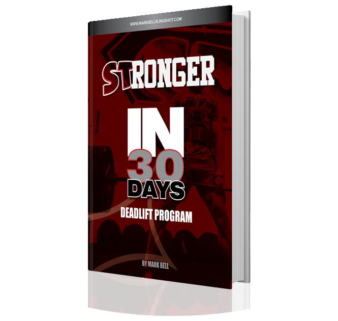 ST30 Deadlift Program - Book Image 01