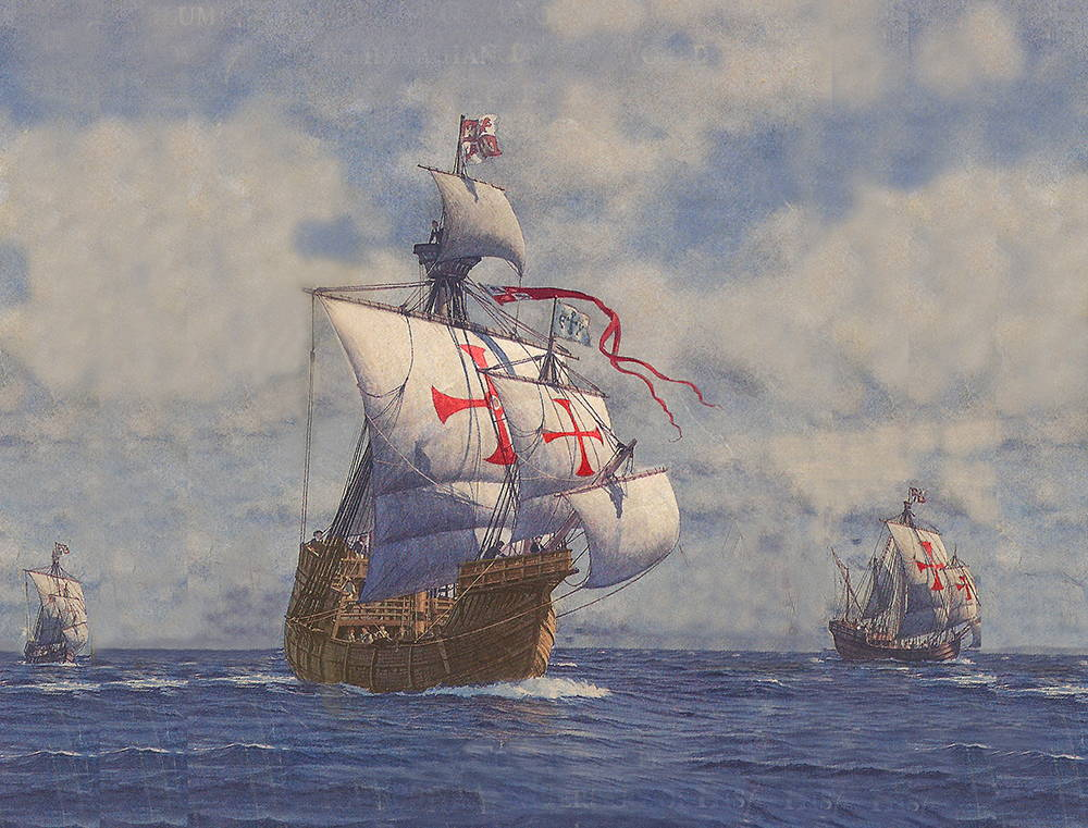 Spanish Armada Sails to the Americas