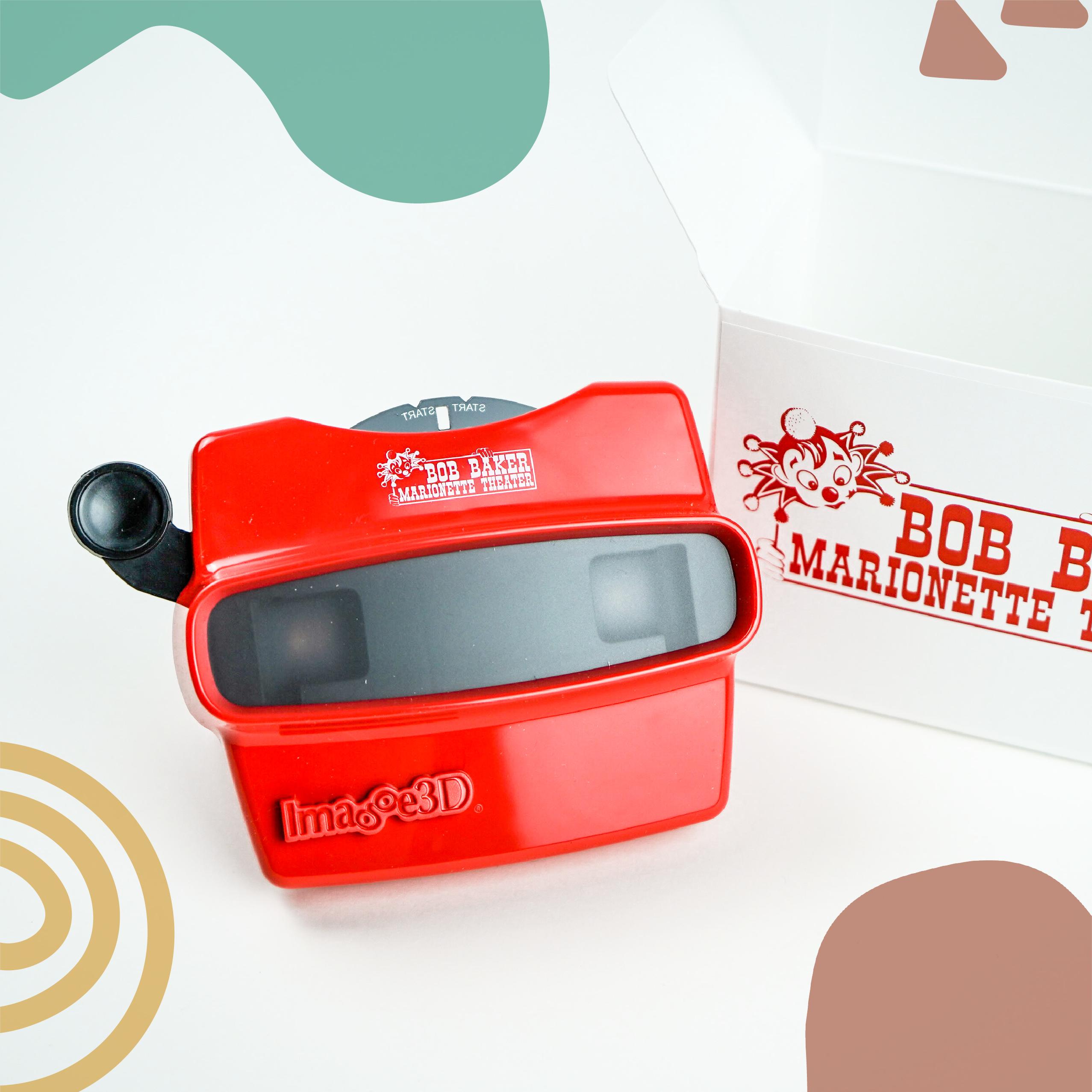 bob baker red visionmaster toy