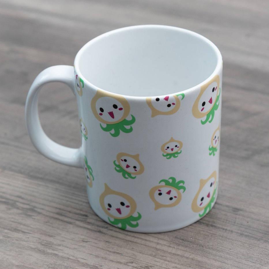 Stylized image of an Overwatch mug