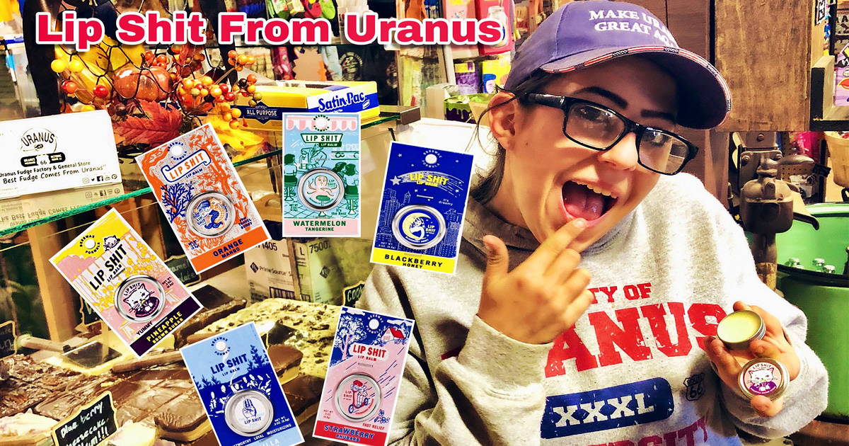 Lip Shit Lip Balm  from Uranus General Store