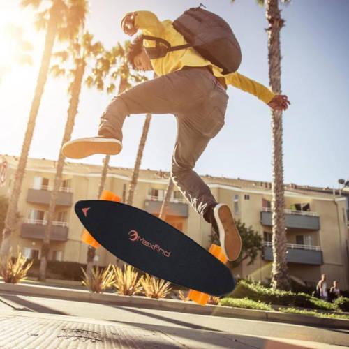 kickflip an electric skateboard