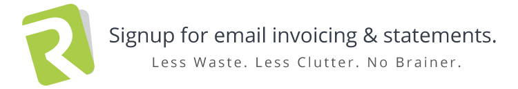 Signup for email invoicing and statements | Robert Ross & Co.