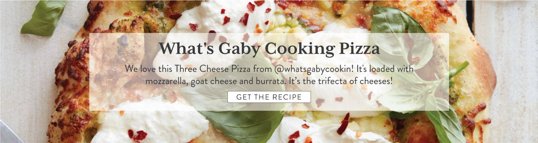 three cheese pizza recipe
