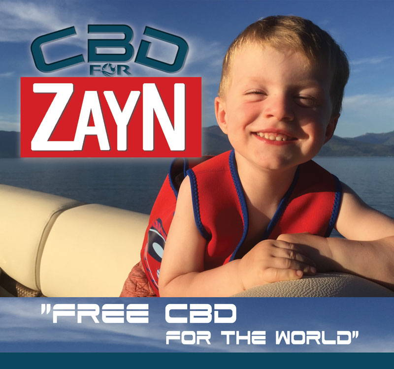 Founder Joel Bordeaux's Son Zayn Born With Cerebral Palsy The Inspiration For CBD For Zayn