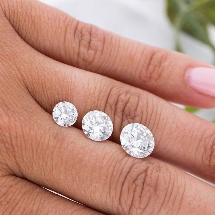 Sizes of Round Diamonds