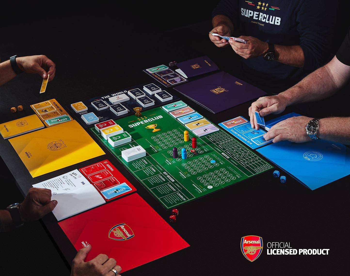 Superclub Arsenal expansion reservation