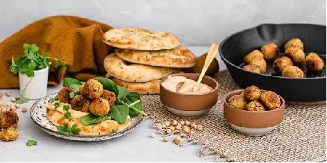 Recette de falafels vegan et protéinés