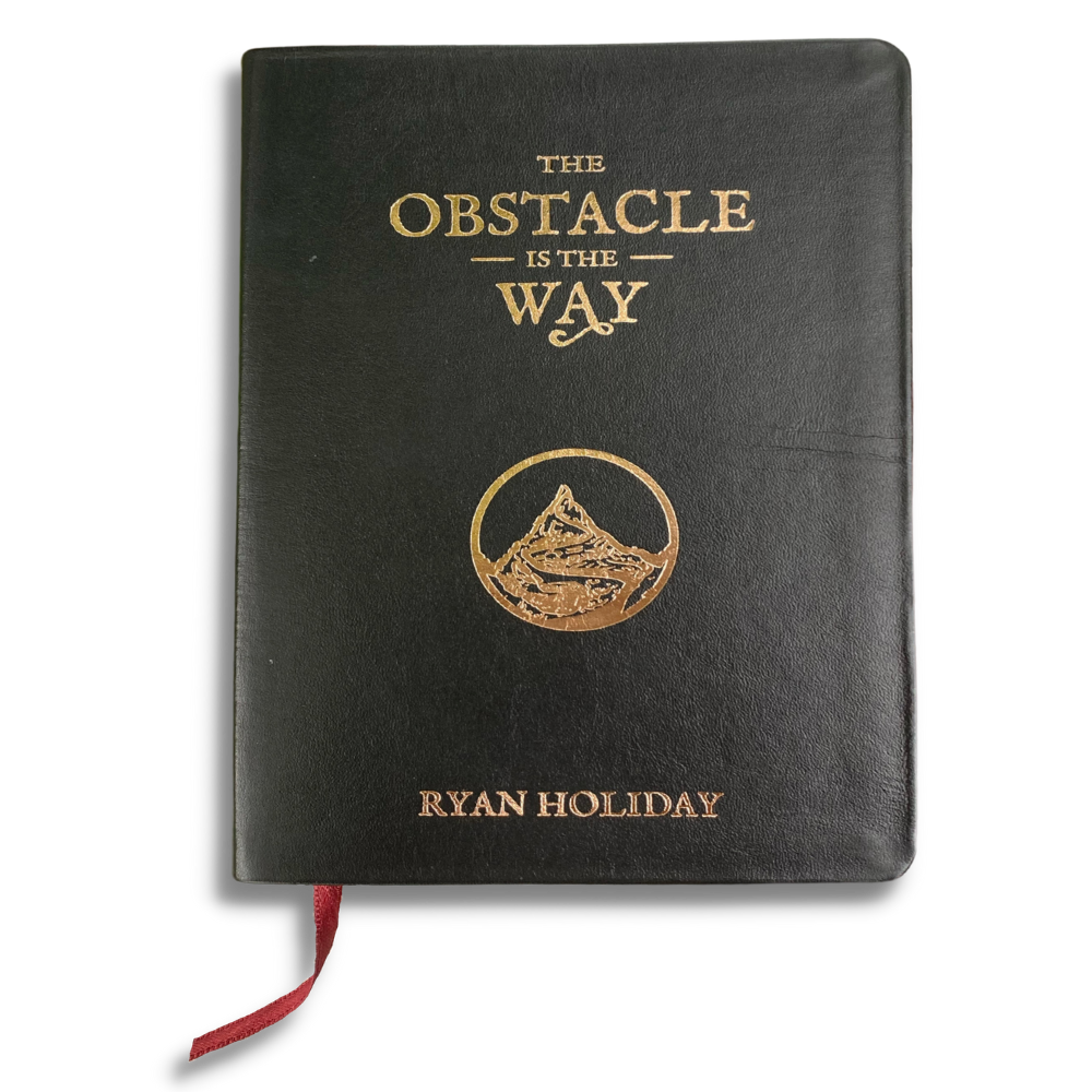 The Obstacle Is The Way Leatherbound Edition