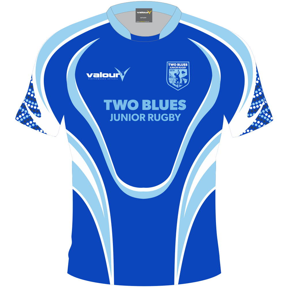 Sublimation gives Rugby Union clubs 100% creative freedom to customise sports uniforms.