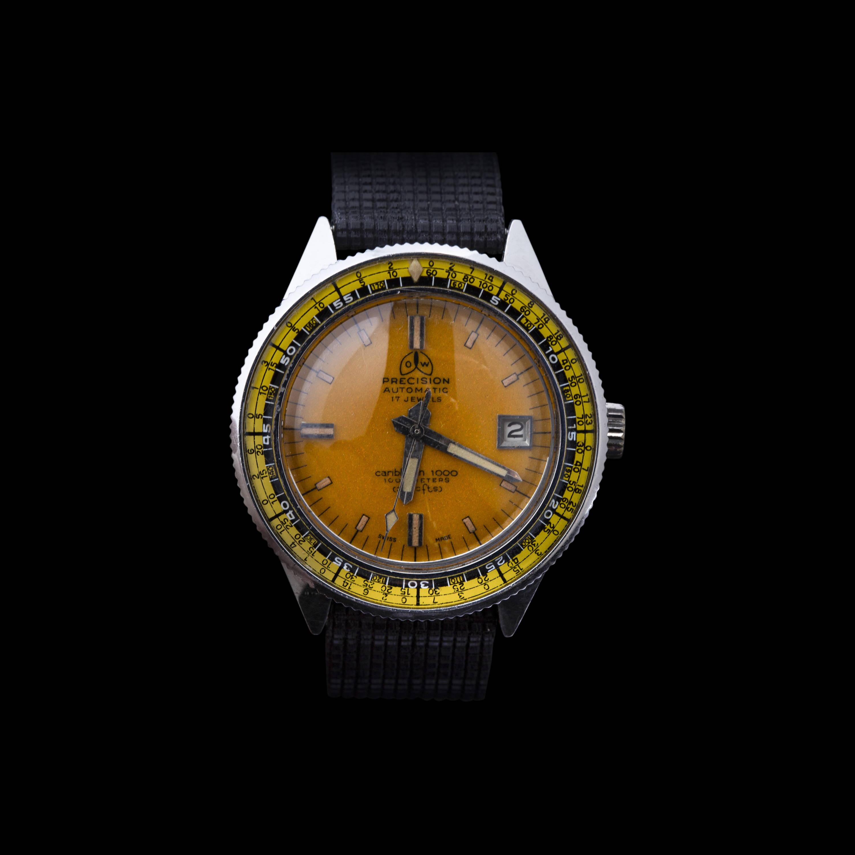 Ollech and Wajs Zurich 1956 OW vintage watch Swiss made CARIBBEAN OCEANGRAPH OW702