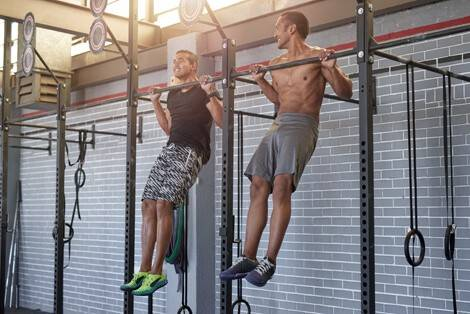 Musculation : exercice de traction