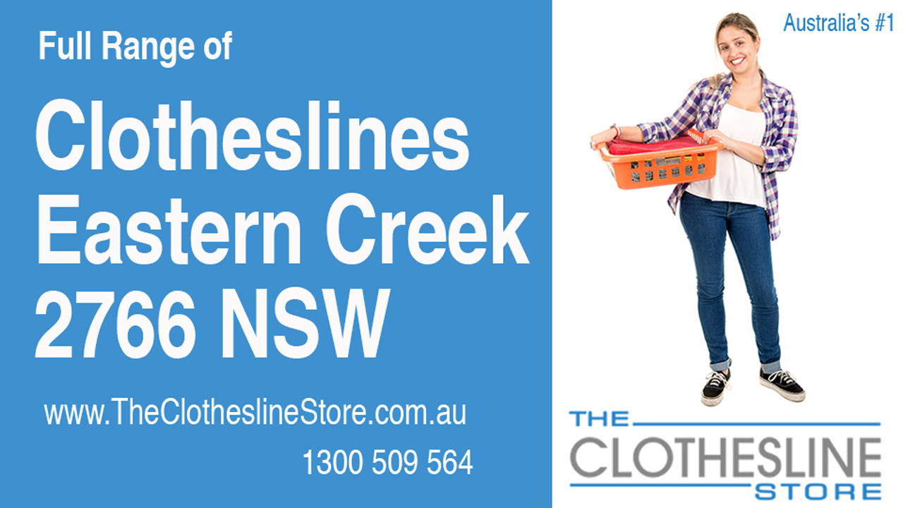 New Clotheslines in Eastern Creek 2766 NSW
