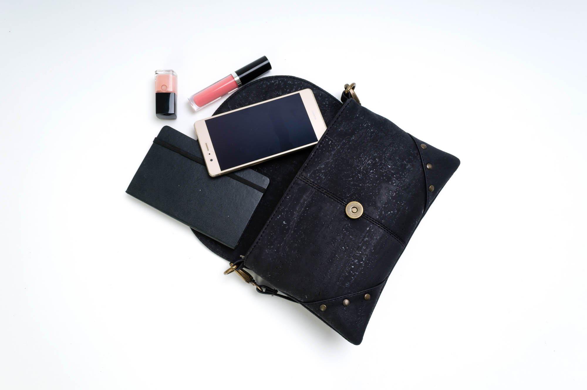 cork clutch purse