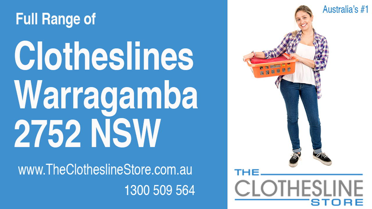 New Clotheslines in Warragamba 2752 NSW