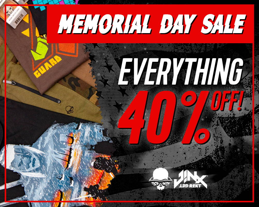 Memorial Day Sale: Everything 40% Off!