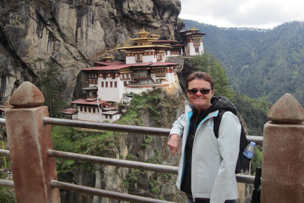 Travelbay Bhutan Tours - Customer Review - Cheryl White in Bhutan -