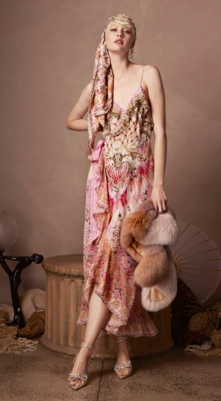camilla prink dress