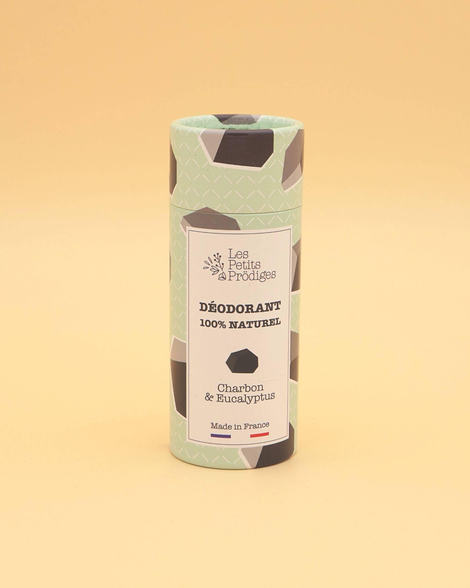 Déodorant baume au charbon