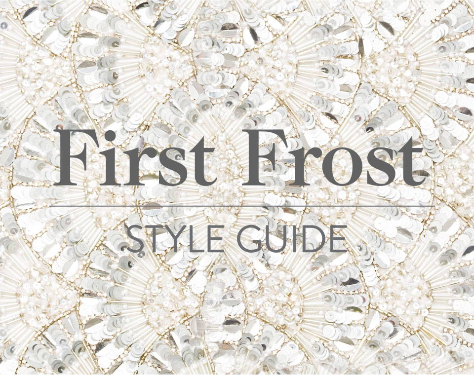First Frost Style Guide