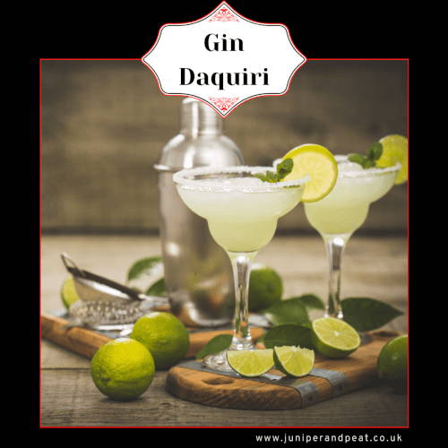 How to make a Gin Daquiri cocktail