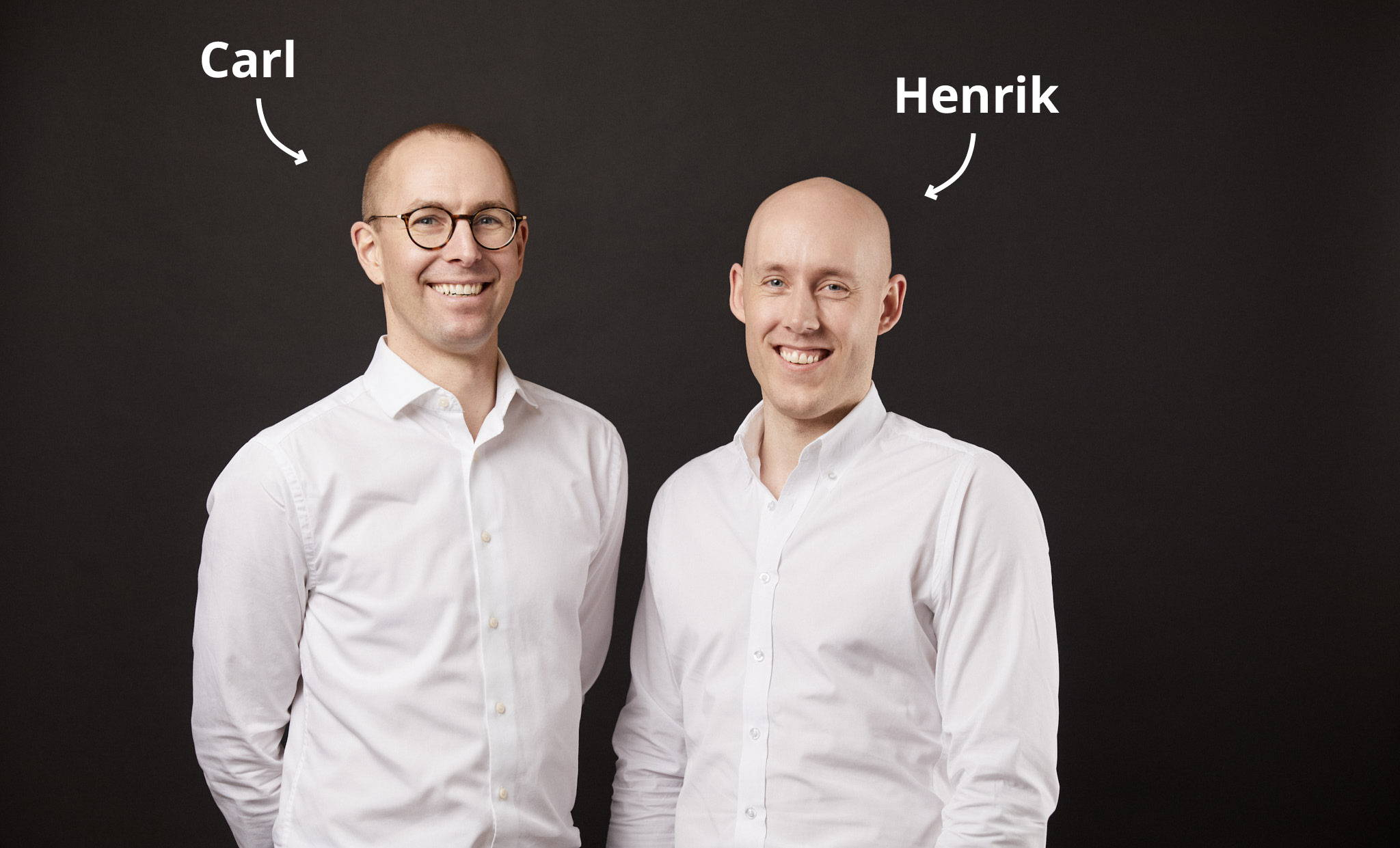 Plegium's founders, Carl Ljung and Henrik Frisk