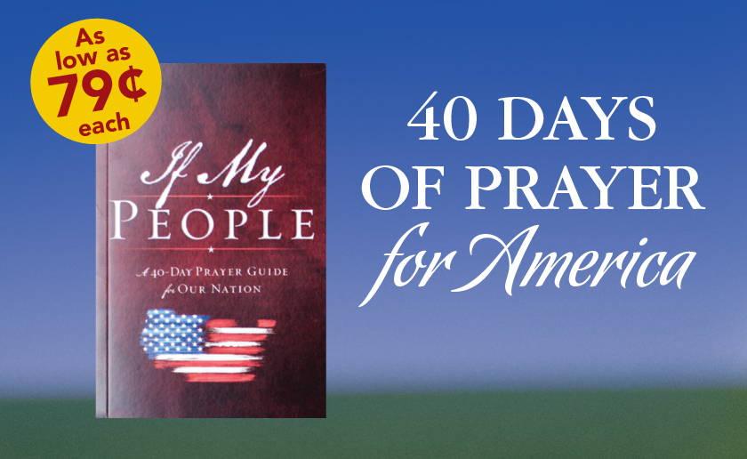40 Days of Prayer for America