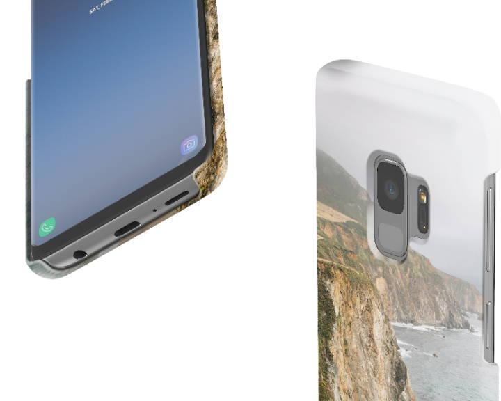 Custom Galaxy S9 Case Slim Zoom