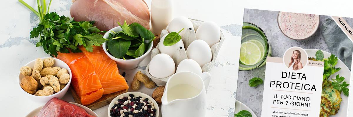 Dieta proteica con piano nutrizionale