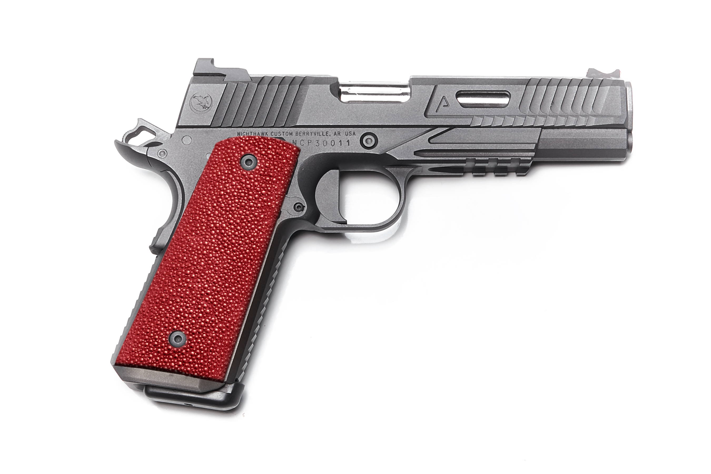 Stingray gun grip for