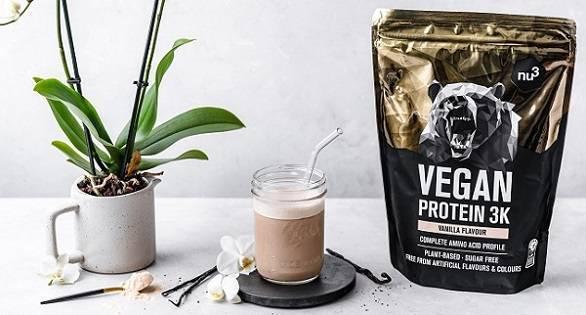 nu3 Vegan Protéine 3K à déguster le matin