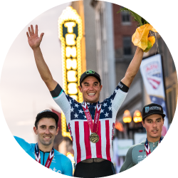 Travis McCabe Pro Cyclist