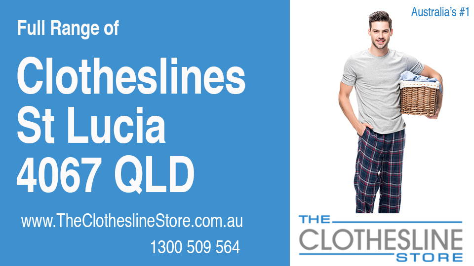 New Clotheslines in St Lucia Queensland 4067