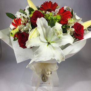 Christmas flowers for Wellington