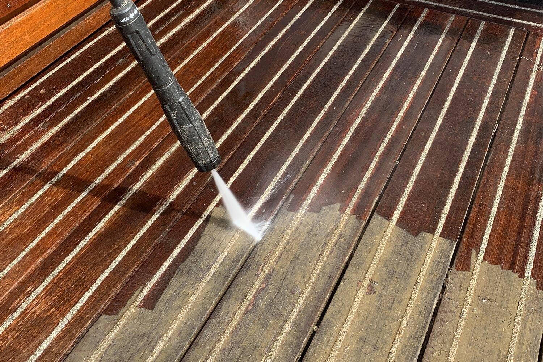 Nettoyage des terrasses