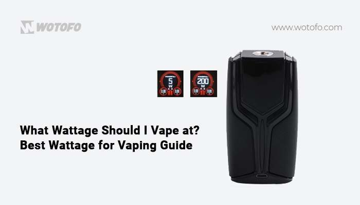 best wattage for vaping