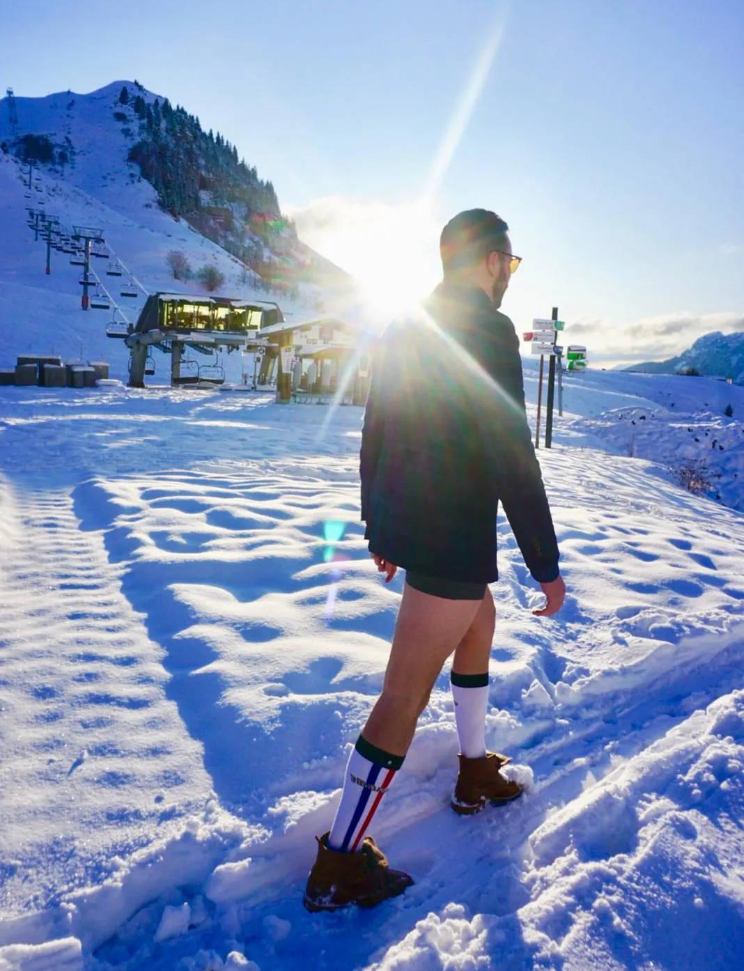 Une chaussette de ski parfaite