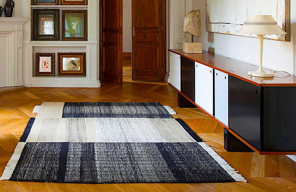 These rugs have you covered when it comes to decorating with black in your home.
