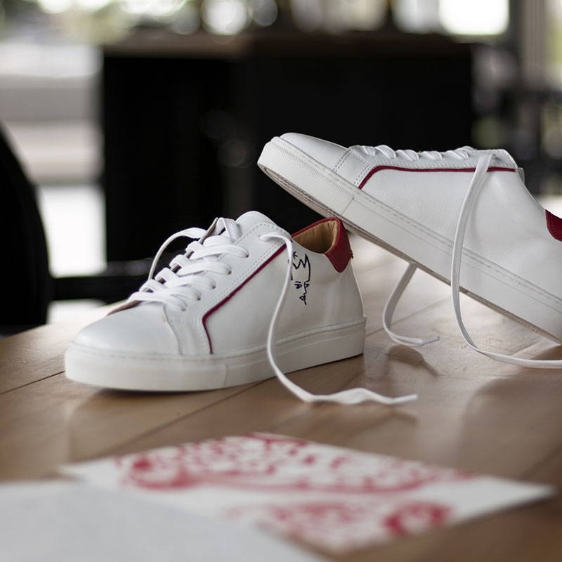 Sneaker confortable pour les profesionnels