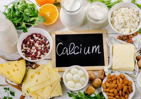 Lebensmittel mit Calcium