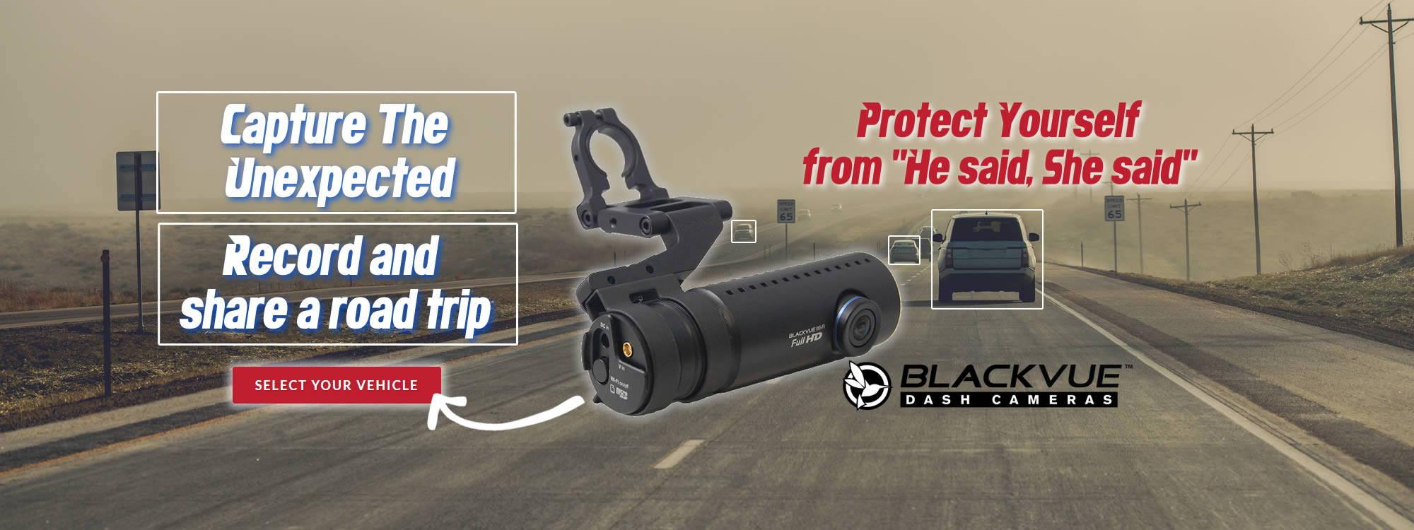 BlendMount Blackvue 4K dashcam