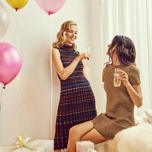 Gift Guide Signature Knit Dresses