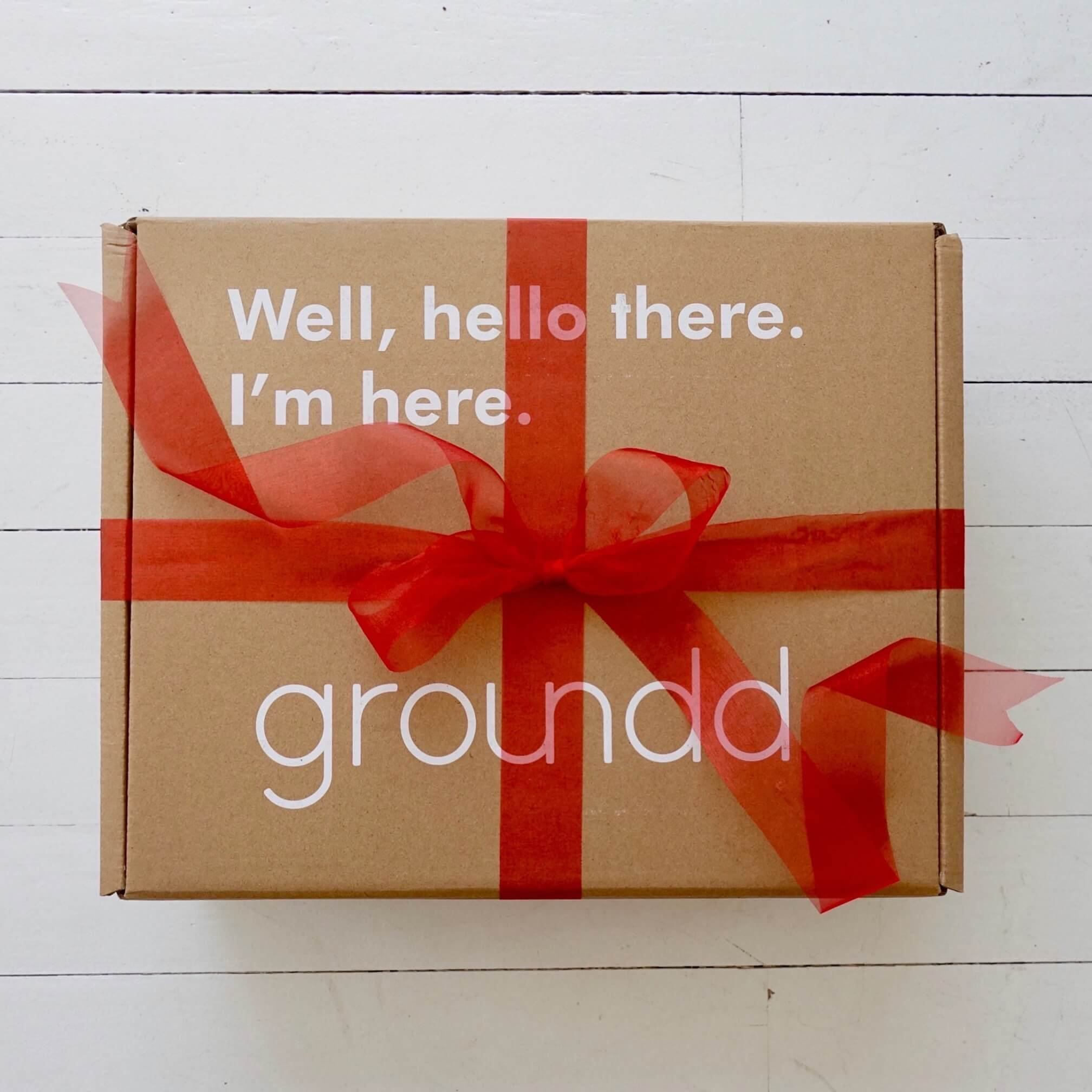 Groundd weighted blanket in box gift