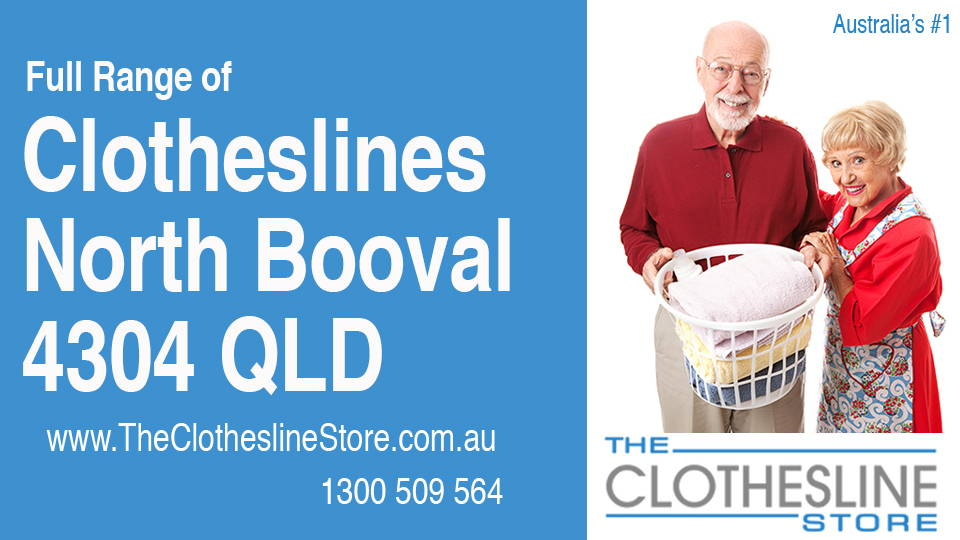 New Clotheslines in North Booval Queensland 4304