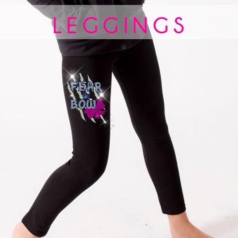 glitterstarz custom bling rhinestone leggings teamwear for cheer dance