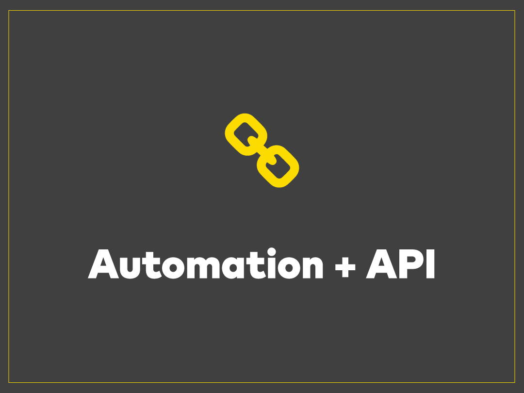 Automation and API Everyday our workflows are receiving and pushing projects directly to press, no human hands required.  Connect with Italic and automate your business.