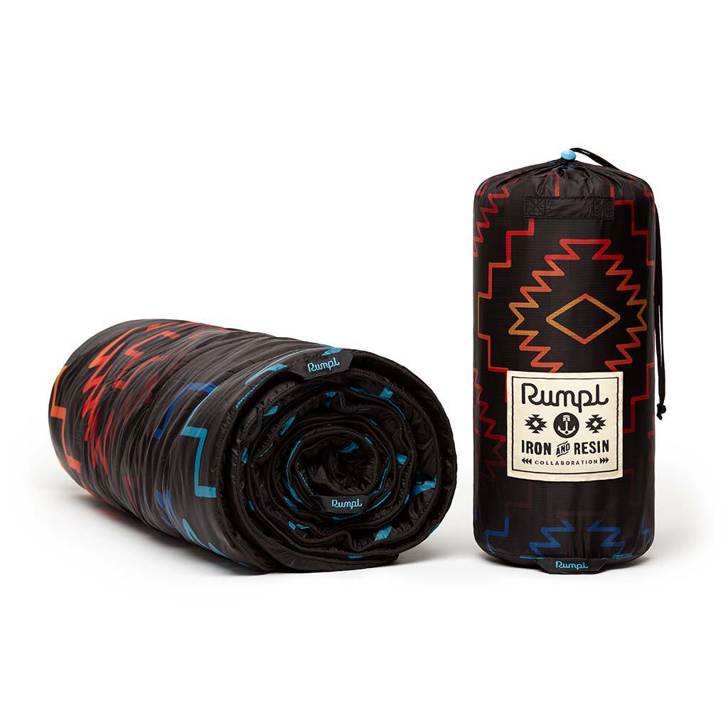 Rumpl x Iron and Resin Last Ride Original Puffy Blanket Collaboration