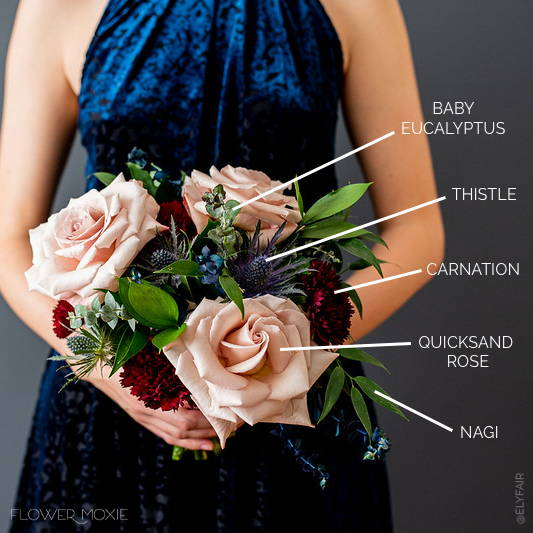 navy flower package online